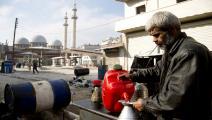 أزمة وقود في سورية-فرانس برس
