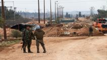 سورية/ قوات النظام قرب طريق دولي(Getty)