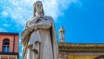 تمثال دانتي أليغييري في فيرونا - القسم الثقافي
