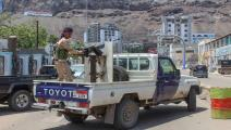 عدن/ مقاتل مع المجلس الانتقالي(Getty)