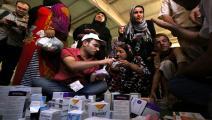 تداول الأدوية غير مضبوط في العراق (صفين حامد/فرانس برس)