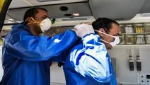 أطباء مصر من بين ضحايا كورونا (زياد أحمد/Getty)