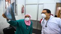 مستشفى في مصر/مجتمع (أحمد حسن/ فرانس برس)