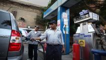 مصر/اقتصاد/محطة وقود في مصر/07-04-2016 (Getty)