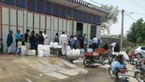 أزمة مياه شرب في مناطق جنوب إيران(تويتر)