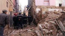 انهيار منزل في المغرب