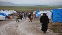 العراق/السليمانية/مخيمات النازحين/الأناضول