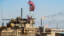 قوات أميركية عند حقول النفط السورية (فرانس برس)