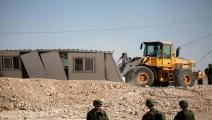 جرافات الاحتلال الإسرائيلي (مأمون وزوز/الأناضول)
