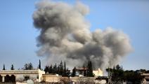 قصف إدلب-سياسة-عمر حج قدور/فرانس برس