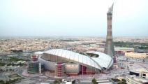 ملعب خليفة في الدوحة سيستضيف مباريات بطولة 2022 (Getty)