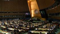 سياسة/الجمعية العمومية للأمم المتحدة/(الأناضول)