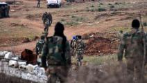 جنود النظام السوري في حلب (فرانس برس)