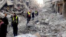 معاناة مخيم اليرموك