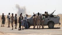 سياسة/اشتباكات اليمن/(صالح العبيدي/فرانس برس)