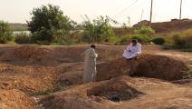 مقابر جماعية في العراق اكتشفت بالصدفة (صباح عرار/فرانس برس)