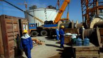 ميناء بلحاف اليمني - فرانس برس