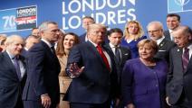 دونالد ترامب/أنجيلا ميركل/الناتو-بيتر نيكولز/فرانس برس