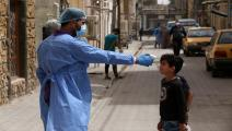 مدارس العراق متوقفة بسبب تفشي كورونا (مرتضى السوداني/الأناضول)