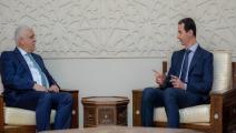 سياسة/الأسد والفياض/(سانا)