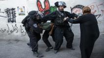 العيسوية/الاحتلال الإسرائيلي/اعتقالات/Getty