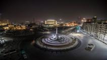 ميدان التحرير في العاصمة المصرية القاهرة (Getty)