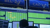 الأسهم الأوروبية-أسهم-بورصة-08-25-فرانس برس