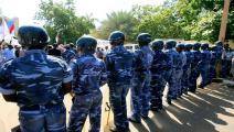 الشرطة السودانية (أشرف شاذلي/ فرانس برس)
