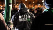 حركة النازيين في فنلندا (ماركو أولاندر/فرانس برس)