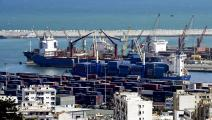 ميناء الجزائر-اقتصاد-17-1-2017 (فاروق بطيشة/فرانس برس)