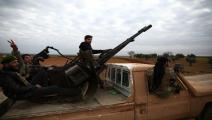 سياسة/اشتباكات سورية/(نظير الخطيب/فرانس برس)