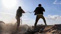 سورية/ قوات النظام/ اشتباكات(Getty)