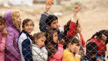 أطفال نازحون في العراق(تويتر)