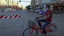 شاب عراقي ودراجة هوائية - العراق - مجتمع