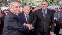 غانتس ونتنياهو/ الاحتلال الإسرائيلي