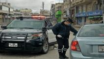 إجراءات مشدّدة لحظر التجول في الأردن/ فرانس برس