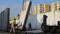 حواجز إسمنتية في بغداد - العراق - مجتمع