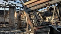 قاعدة عين الأسد-سياسة-أيمن حنا/فرانس برس