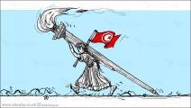 كاريكاتير الثورة التونسية / حجاج
