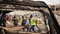 الصومال/سياسة/تفجير مقديشو/(محمد عبدالوهاب/فرانس برس)