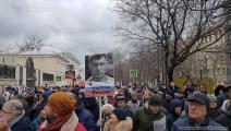 روسيا/ مسيرة بذكرى اغتيال نيمتسوف/ العربي الجديد