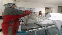 مستشفى في تونس/مجتمع (ناسير تاليل/ الأناضول)