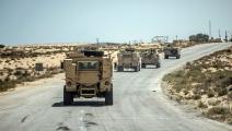 الجيش المصري بطريقه إلى شمال سيناء-خالد دسوقي/فرانس برس