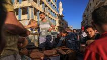 خبز ليبيا (عبد الله دوما/فرانس برس)