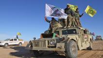فصائل مسلحة تابعة للحشد الشعبي في العراق-فرانس برس
