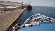 ميناء العقبة في الأردن - جيتي