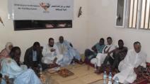 اعتقال الناشطين الموريتانيين على خلفية هذا الاجتماع (فيسبوك)