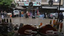 مظاهر رمضانية محدودة في إدلب (عارف وتد/فرانس برس)