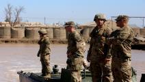 القوات الأميركية/العراق/فرانس برس