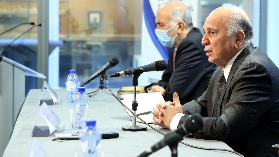 Politician / Fouad Hussein / (Dorson Aidemir / Anatolia)